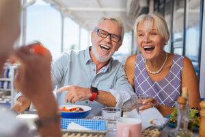 a couple enjoys pennsylvania Senior Living Programs