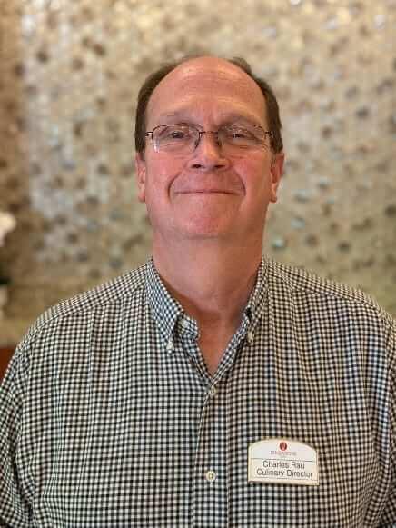 Charles Rau, Culinary Director